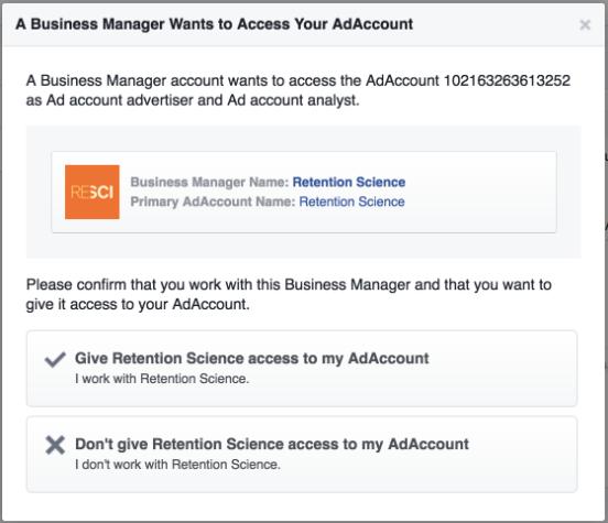 Facebook / Instagram Custom Audience <> ReSci – Welcome to