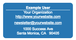 Including Add To Contact Information In Emails – Welcome to the